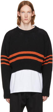 Raf Simons Black Americano Sweater