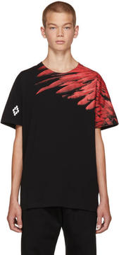 Marcelo Burlon County of Milan Black Adil T-Shirt