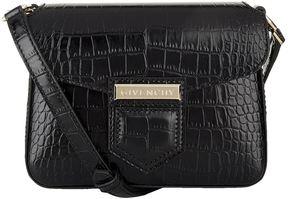 Givenchy Small Nobile Crocodile Embossed Shoulder Bag