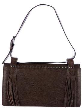 Giorgio Armani Studded Fringe Shoulder Bag