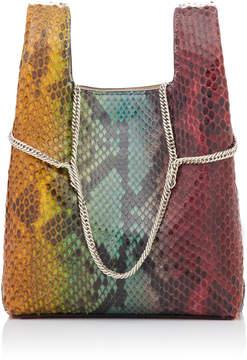 Hayward Tie-Dye Python Mini Shopper