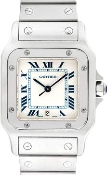 Cartier Men's Vintage Santos Galbee Stainless Steel Watch