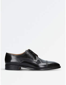Stemar Perugia leather derby shoes