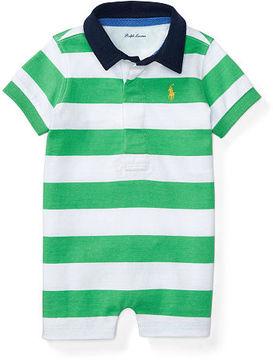 Ralph Lauren Baby Boy Striped Cotton Jersey Shortall