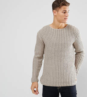 ONLY & SONS Chunky Knitted Sweater With Scoop Neck