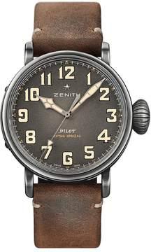 Zenith Pilot Chronograph Automatic Grey Dial Men's Watch