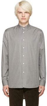 Marc Jacobs Grey Micro Stripe Shirt