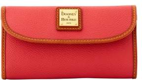 Dooney & Bourke Eva Continental Clutch Wallet - STRAWBERRY - STYLE