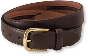 L.L. Bean Men's Chino Belt with Money Zip
