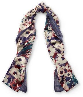 Ralph Lauren Lauren Mila Floral Silk Scarf