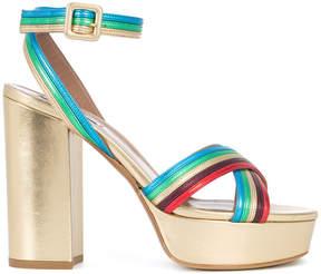 Tabitha Simmons block heel sandals