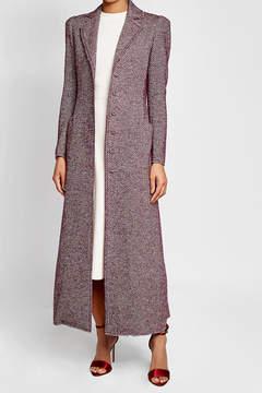 Brock Collection Tweed Maxi Coat