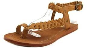 Diba See It Shine Open-toe Leather Slingback Sandal.