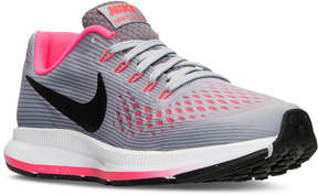 Nike Girls' Air Zoom Pegasus 34 Running Sneakers from Finish Line