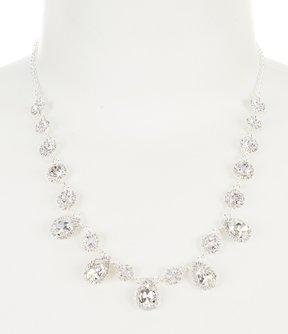 Cezanne Rhinestone Daisies Collar Necklace