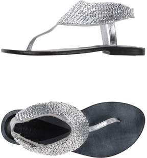 Dibrera BY PAOLO ZANOLI Toe strap sandals