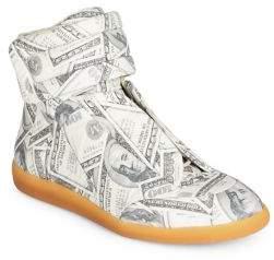 Maison Margiela Future Dollars High-Top Sneakers