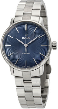 Rado Coupole Classic S Automatic Blue Dial Ladies Watch