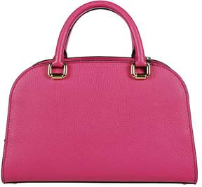 Dolce & Gabbana Leather Bowling Tote - FUXIA - STYLE