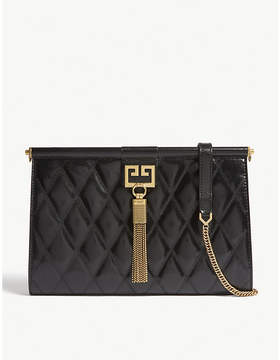 Givenchy Gem quilted leather clutch