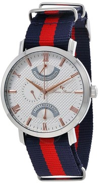 Lucien Piccard Verona Men's Dual Time Watch