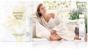 Receive a Free White Tea Eau de Toilette Sample with any beauty purchase