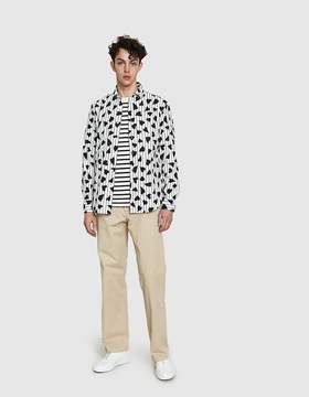 J.W.Anderson Heart Stripe Shirt