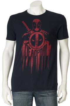 Marvel Men's Deadpool Shield Tee