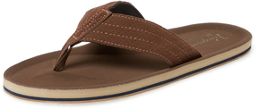 Original Penguin Men's Brian Perforated Flip-Flops