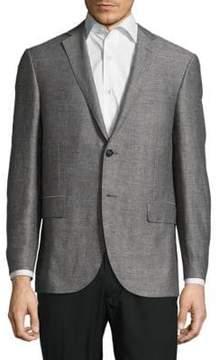 Corneliani Textured Notch-Lapel Jacket