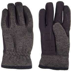 Levi's Men's Heathered Knit Touchscreen Gloves