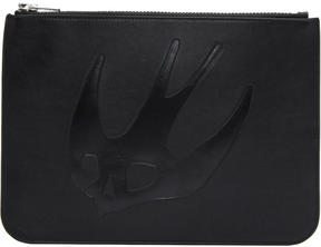 McQ Black Large Swallow Pouch
