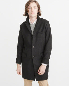 Abercrombie & Fitch Italian Wool Topcoat