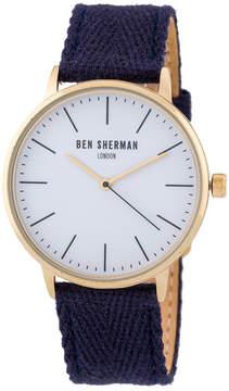 Ben Sherman Men's Portobello Social Casual Watch, 41mm