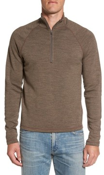 Ibex Men's 'Shak' Merino Wool Quarter Zip Top