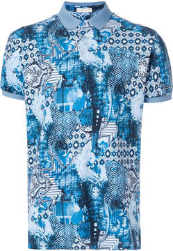 Etro Indian printed polo shirt