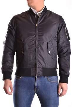 Meltin Pot Men's Black Polyamide Outerwear Jacket.