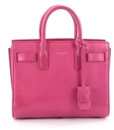 Saint Laurent Pre-owned: Sac De Jour Handbag Leather Nano. - PINK - STYLE