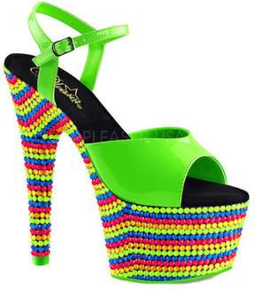 Pleaser USA Women's Adore 709RBS Ankle Strap Sandal