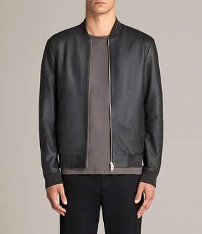 AllSaints Kieran Leather Bomber Jacket