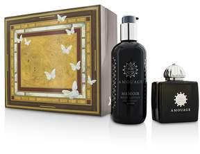 Amouage Memoir Coffret: Eau De Parfum Spray 100ml/3.4oz+ Body Lotion 300ml/10oz