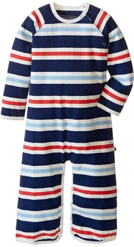 Toobydoo Navy/White/Red Long Sleeve Jumpsuit Boy's Jumpsuit & Rompers One Piece