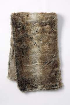 Lands' End Lands'end Faux Fur Throw