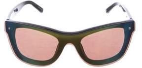 3.1 Phillip Lim Cat 3 Reflective Sunglasses