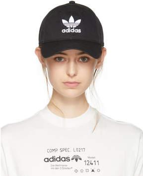 adidas Black Trefoil Cap