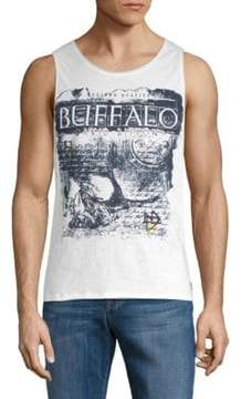 Buffalo David Bitton Nedvard Graphic Cotton Tank Top