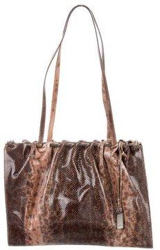 Gucci Karung Frame Bag - BROWN - STYLE