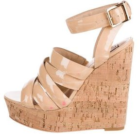 Pour La Victoire Jessie Platform Wedge Sandals
