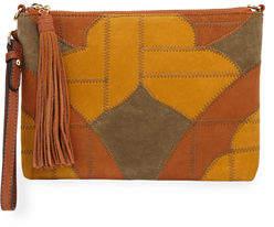 Sam Edelman Kelly Patchwork Colorblock Crossbody Bag