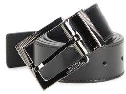 Versace Solid Leather Belt